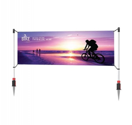 Outdoor Banner Post